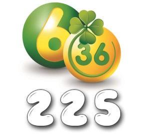 Лотерея «6 из 36» - Тираж №225