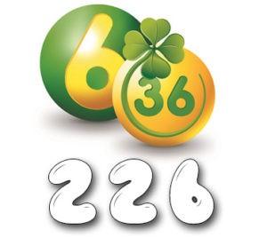 Лотерея «6 из 36» - Тираж №226