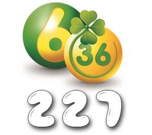 Лотерея «6 из 36» - Тираж №227