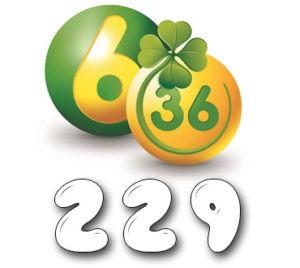 Лотерея «6 из 36» - Тираж 229